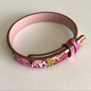 KEEP Collective Single Leather Floral Band